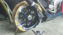 NSR250Rマルケジーニ アルミ鍛造 6J ホイールの全体画像