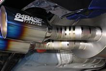ゴルフ R ヴァリアント84BASE 84BASE特製Full Titanium ExhaustSystemの単体画像
