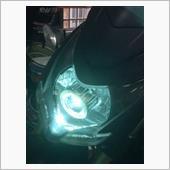 ヤフオクで購入(おそらく中華製) エンジェルアイヘッドライト