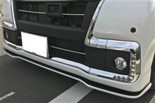 タントカスタムSILK BLAZE フロントリップスポイラー(ツ-トンカラー)の全体画像