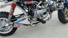 モンキー Z50J不明 ショート管の単体画像