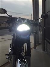 SR400Fi不明 H4 LEDバルブの全体画像