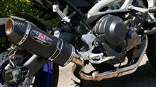 MT-09ヨシムラジャパン R-77S サイクロン カーボンエンドSMCの単体画像