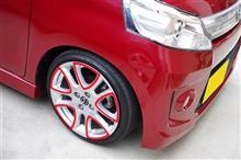 フレアワゴンカスタムスタイルMAZDA Genuine Wheelの全体画像