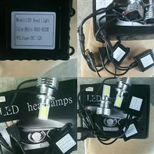 C5 セダンメーカー不明 3面発光  H7  LEDヘッドライト8000~8300kの全体画像