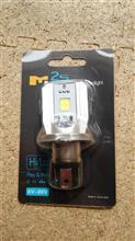 ジャイロXメーカー・ブランド不明 LEDヘッドライト H4 直流交流兼用の単体画像