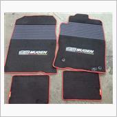 MUGEN / 無限 Sports Mat [Black X Red]