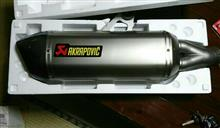 R1200GSAKRAPOVIC e1仕様 SLIP ON LINE チタンの全体画像