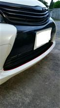 カローラフィールダーハイブリッドTRD / トヨタテクノクラフト TRD Sportivo フロントスポイラーの全体画像