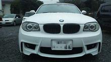1シリーズ ハッチバックend.cc 1M Coupe-Line フロントバンパーの全体画像