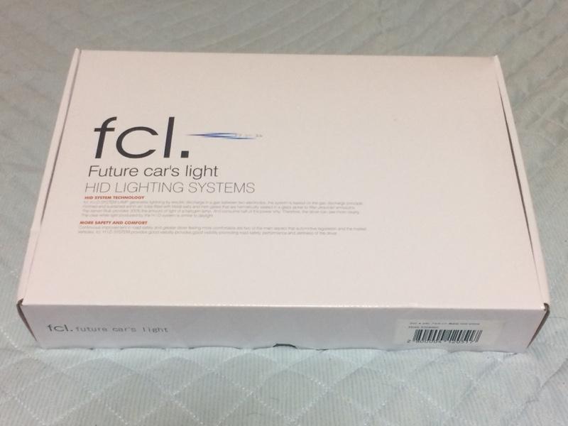 fcl 55W 純正HIDパワーアップキット(D2/D4対応) 6000K