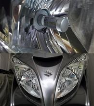 スカイウェイブ250メーカー・ブランド不明 LEDヘッドライト H4 4000lm×2の全体画像