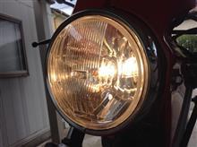 DR125SIPF 9112 丸形4灯式ロービーム(ポジション球付))の全体画像