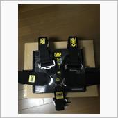 OMP 802 HANS 6点式シートベルト