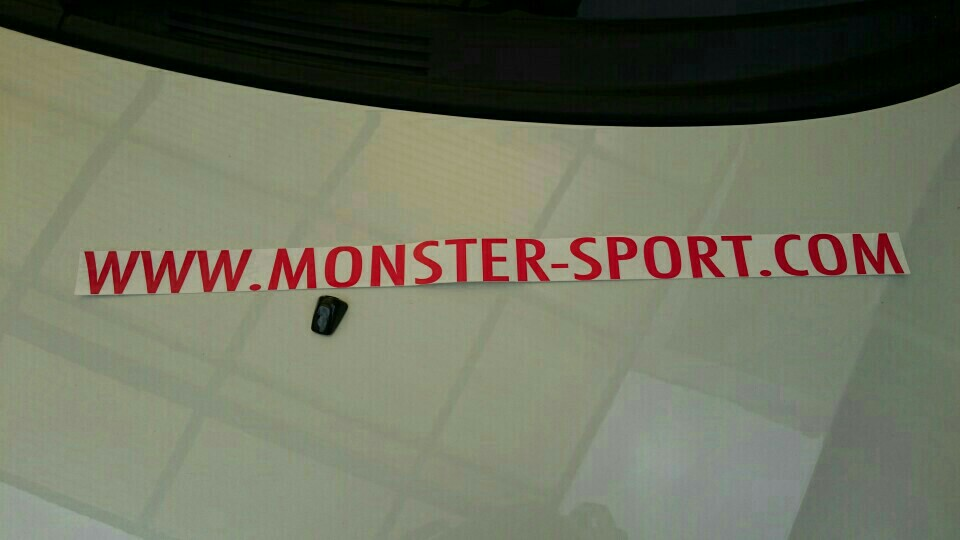 MONSTER SPORT / TAJIMA MOTOR CORPORATION MSドットコムステッカー
