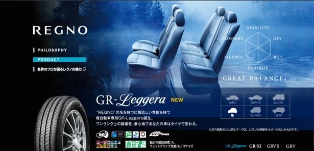 BRIDGESTONE REGNO GR-Leggera 155/65R14 75H