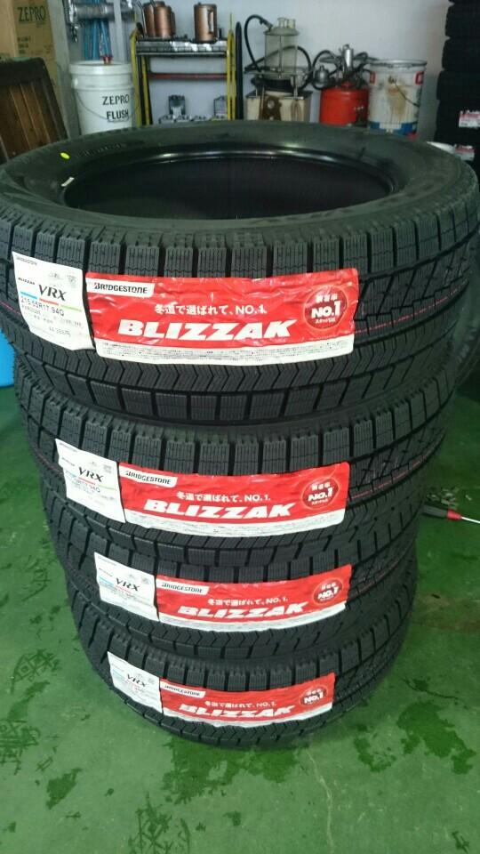 BRIDGESTONE BLIZZAK VRX 215/55R17