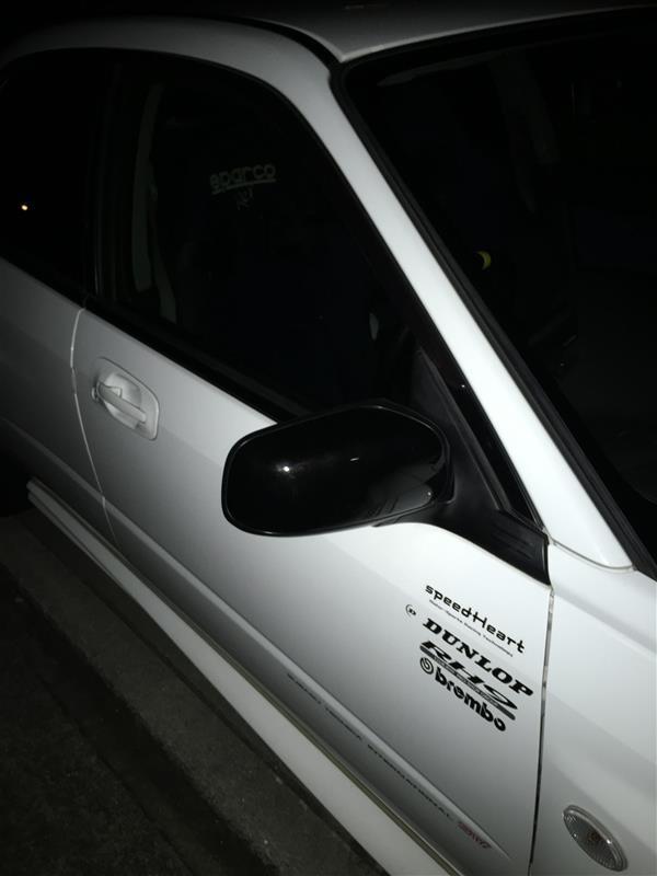 スバル(純正) GG3 純正ドアミラー ブラック