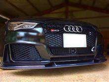 RS3 スポーツバックbalance it フロントリップスポイラーの単体画像