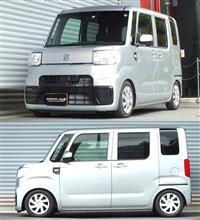 ハイゼットキャディーRS★R LA700V 『 Best☆i C&K 』の全体画像