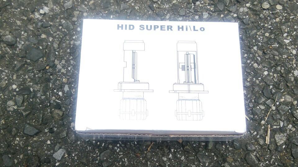大陸製 HIDバルブH4交換用