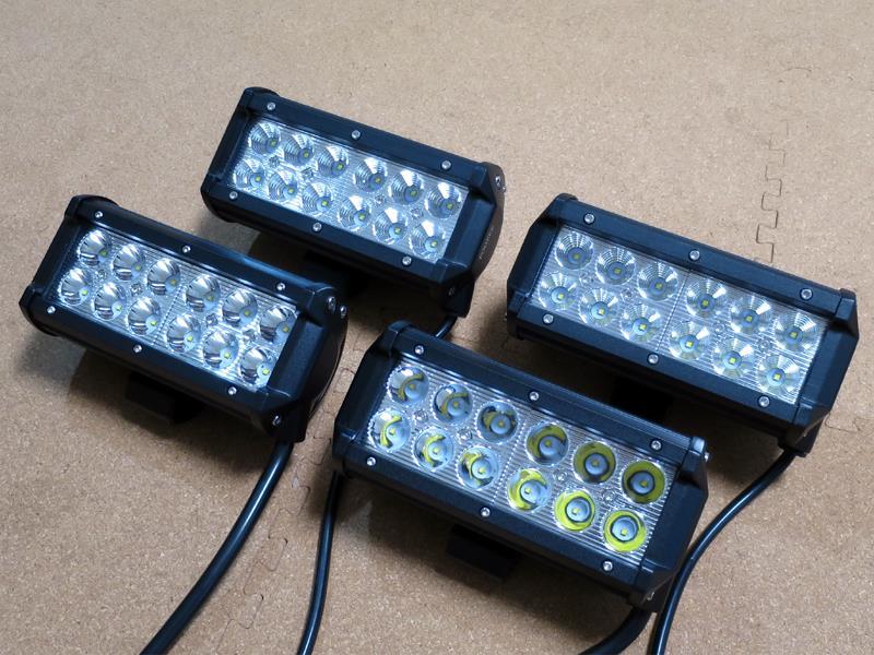 不明 LEDワークライト 36W