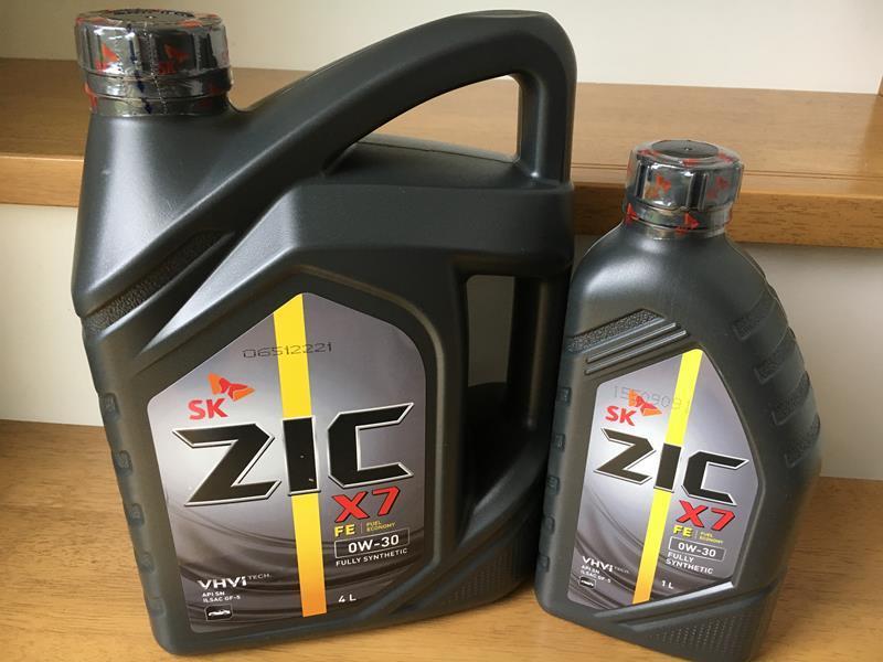 パルスター ZIC X7 FE エンジンオイル 4L/1L