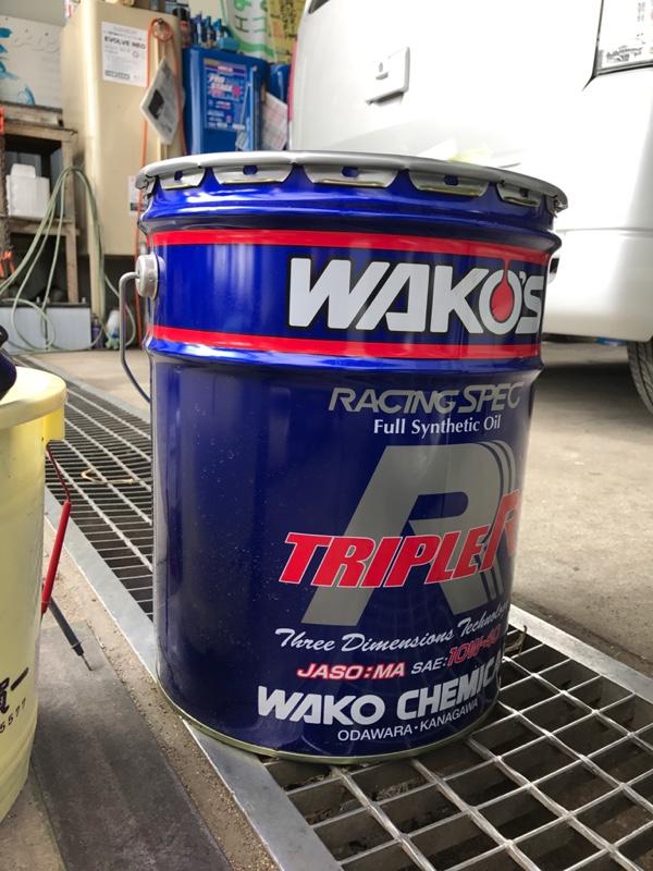 WAKO'S TR / トリプルアール 10W-40