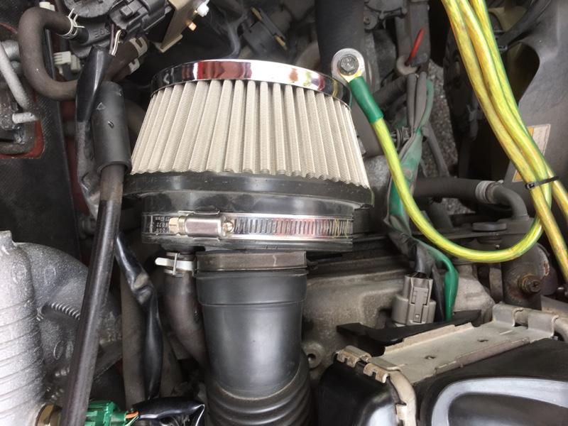 メーカー不明 MC21S用エアクリーナー