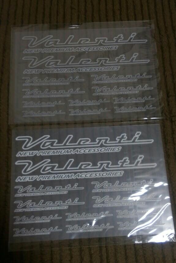 Valenti VALENTIステッカー