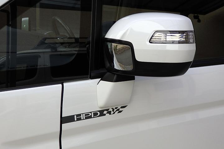 7013WORKS HPDステッカー(サイド用)