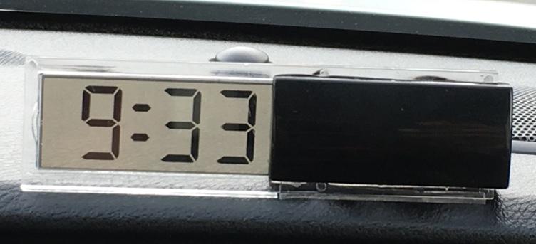 ダイソー デジタル時計