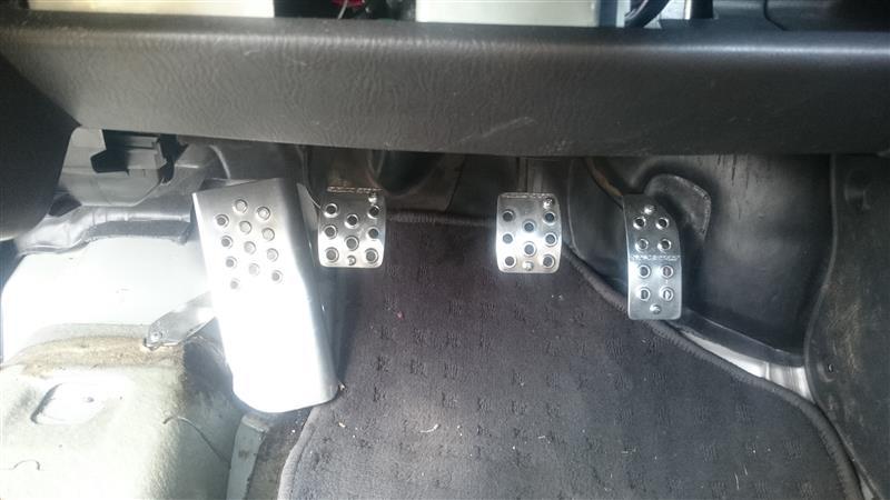 SUZUKI SPORT / IRD アルミペダルセット MT車用