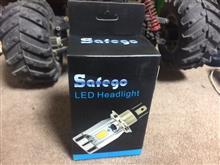 エックスロード125SAFEGO バイク用HF1 H4 LEDバルブの単体画像