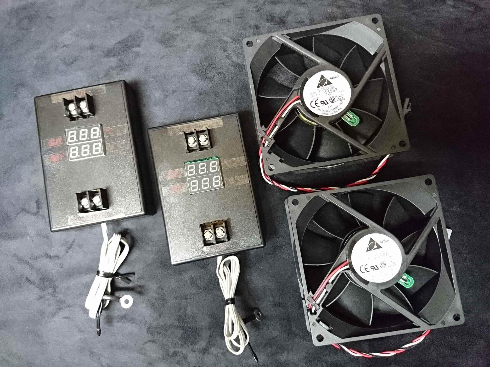 YBN岡山 PCファン TEMP制御回路