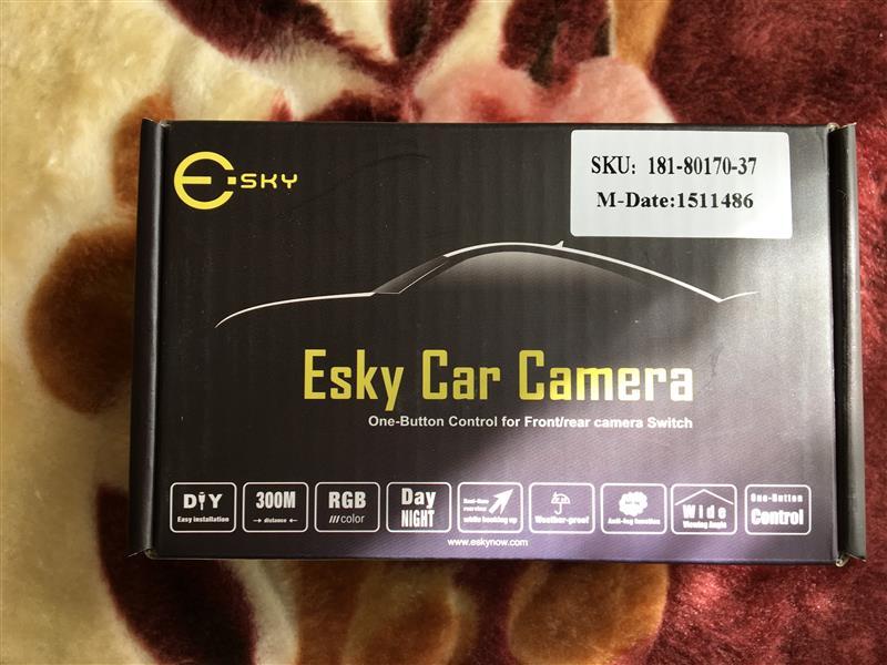 ESKY Car Camera