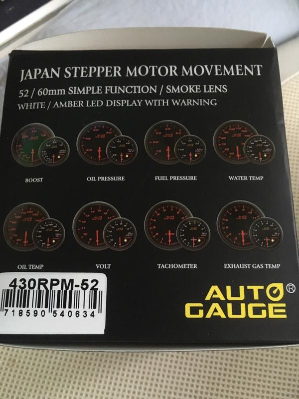 AutoGauge 430series スモーク 52π