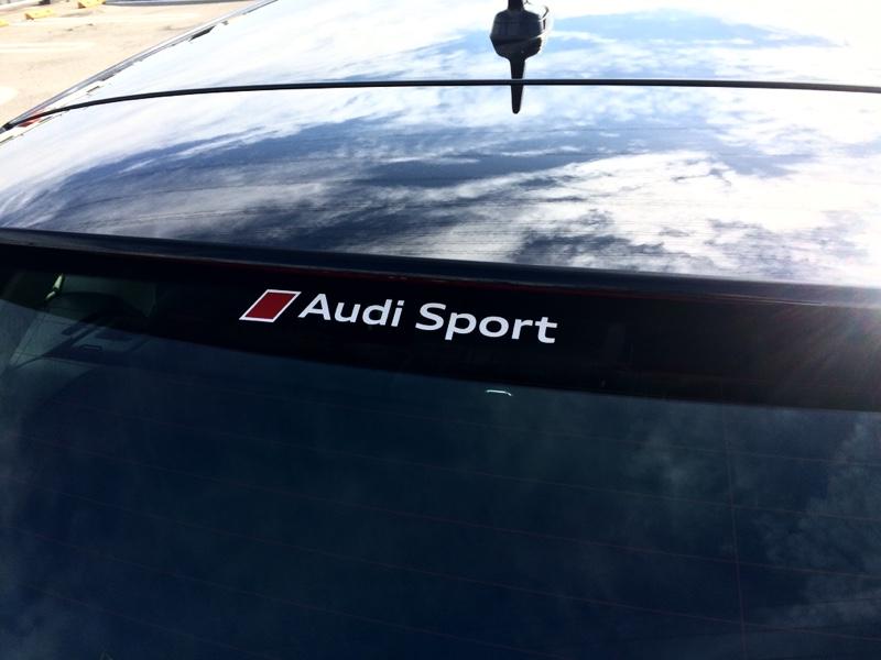 AudiAG純正(アウディ) Audi Sportステッカーセット