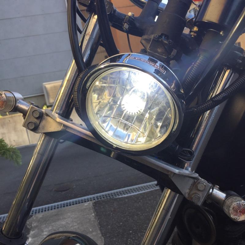 China製 motorcycle LED headlight 6w 800LM