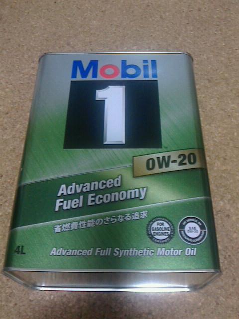 Mobil Mobil  1    0Wー20