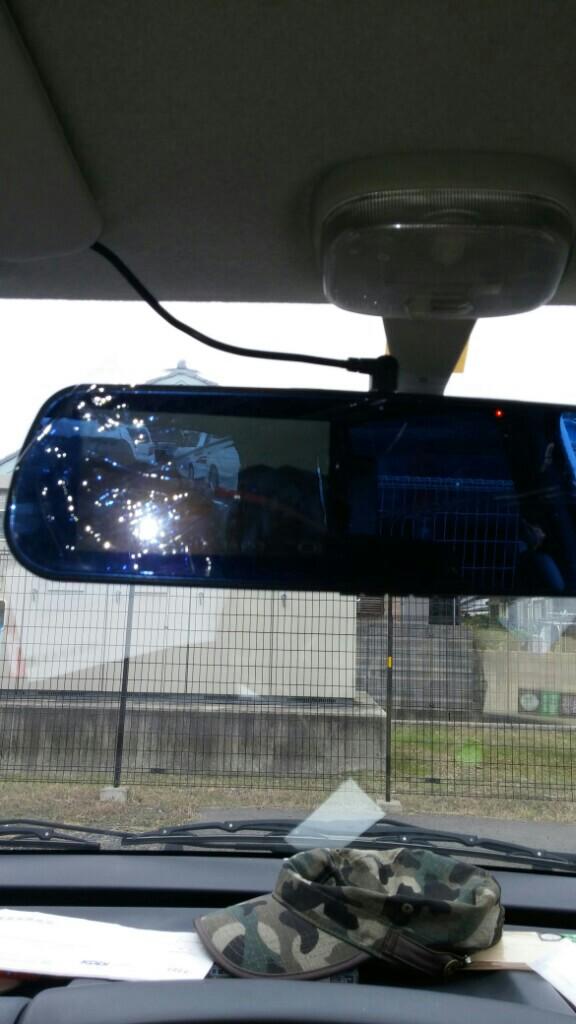 中華製ドライブレコーダー REAR-VIEWMIRROR
