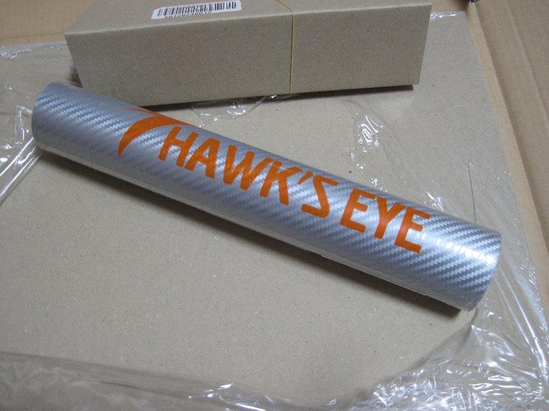 HAWK'S EYE 3D リアルカーボンシート シルバー