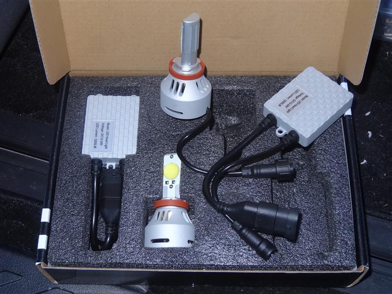 REIZ TRADING LEDフォグ 6400lm