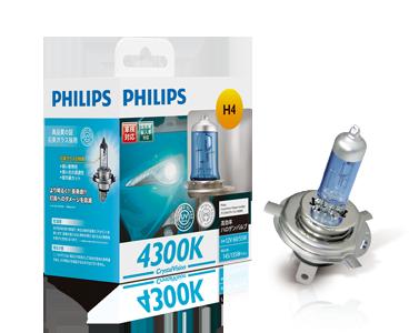 PHILIPS CrystalVision 4300K H7