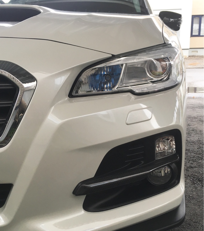 AXIS-PARTS GT-DRYカーボン フォグランプカバー