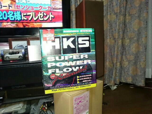 HKS 汎用スーパーパワーフローリローデッド(本体)