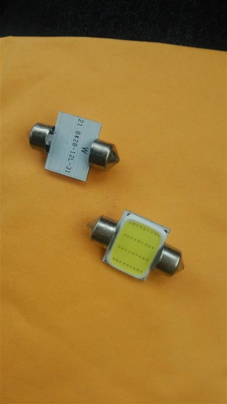 HIKARI Trading COB 面発光 LEDルームランプ T10*31mm/33mm兼用