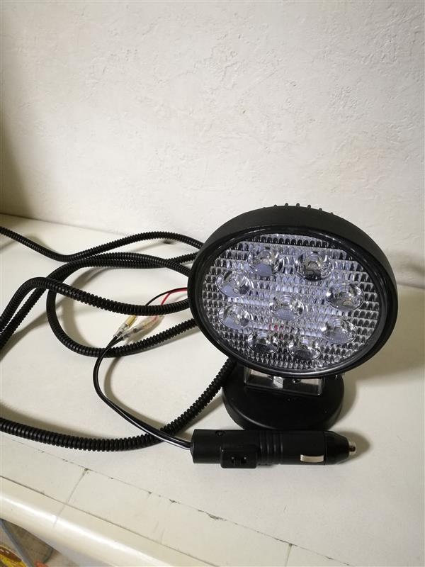 不明 LED ワークライト 27w 丸型 狭角