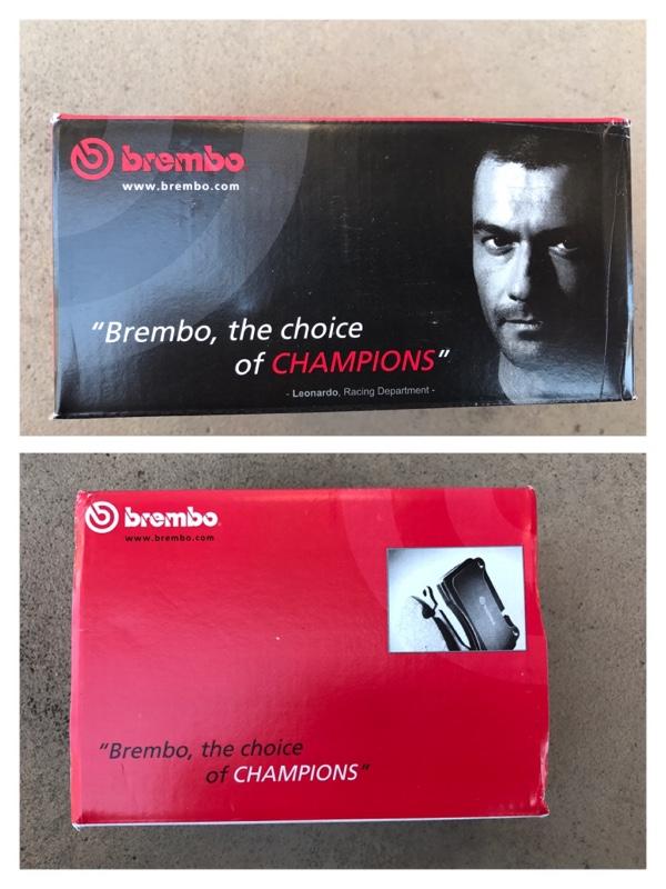 brembo ブラックブレーキパッド