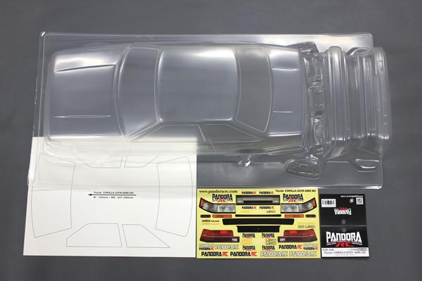 Pandora Toyota COROLLA LEVIN(レビン) AE86 2Dr 【PAB-168】